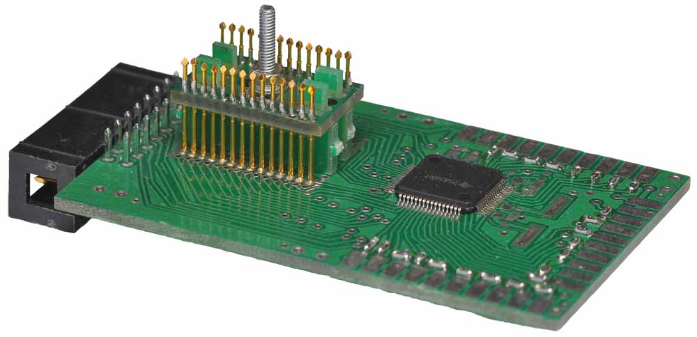 Example of printed circuit board used for JTAG development systems