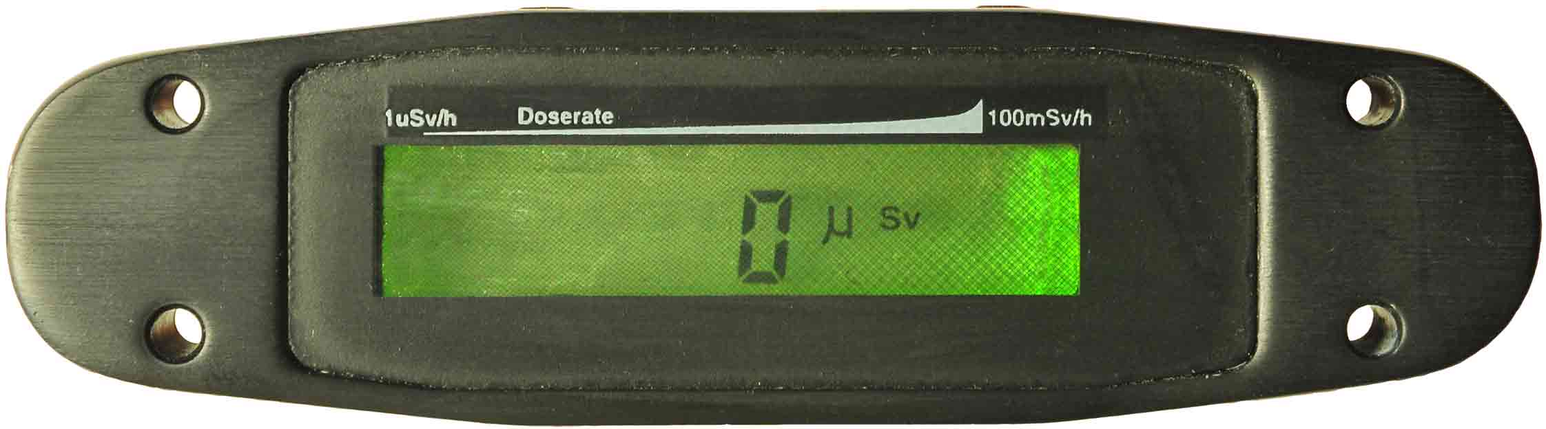 G111 Personal radiation dosimeter display end cap